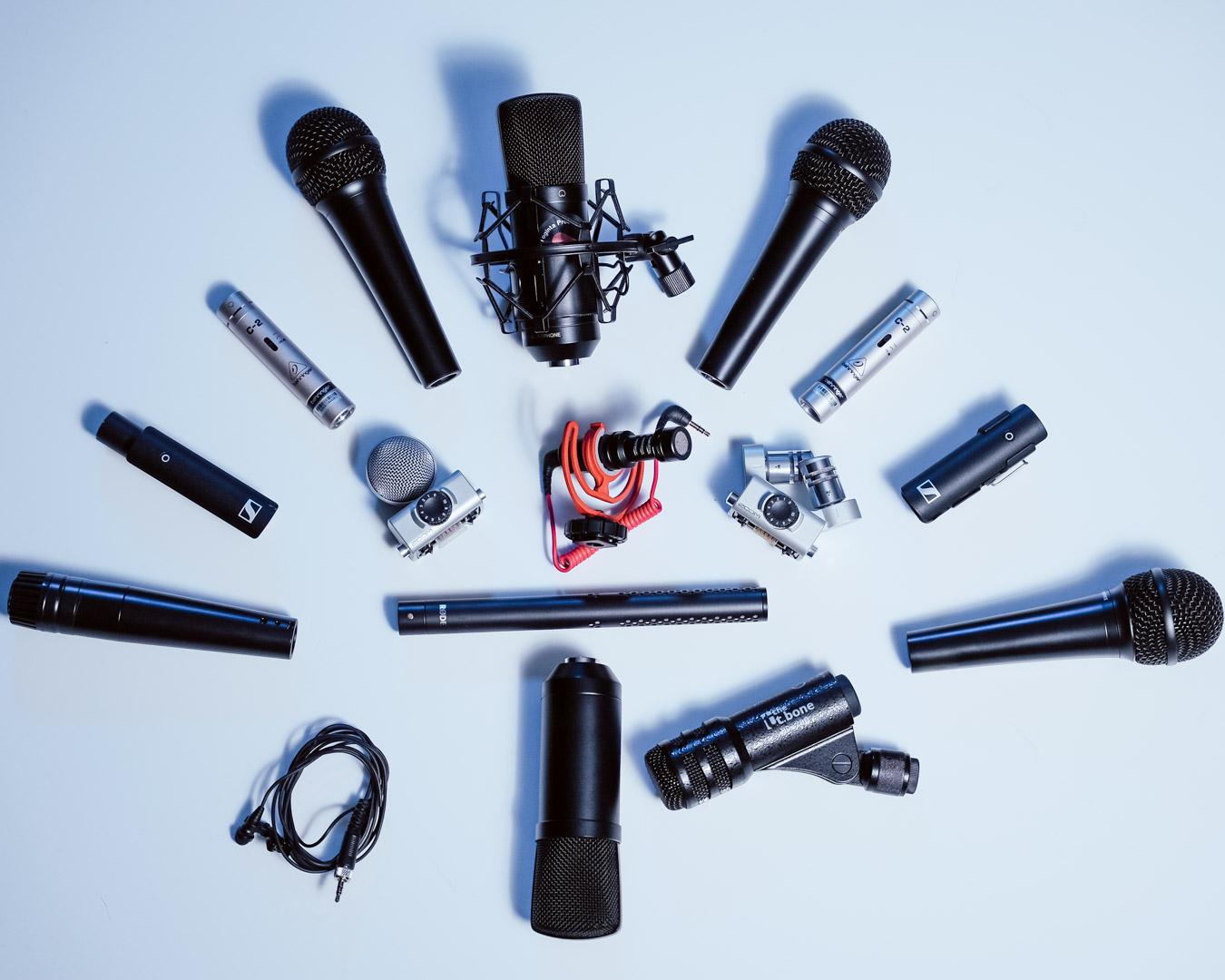 Så väljer du den bästa mikrofonen oavsett tillfälle!